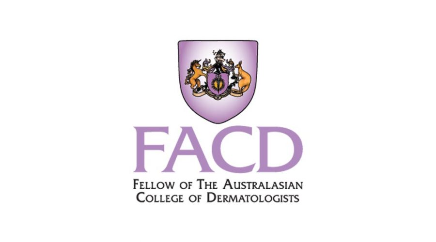 Fellows of the Australasian College of Dermatologists logo