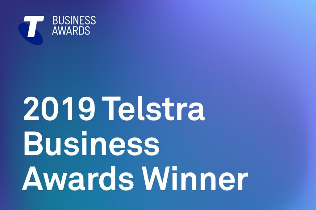 2019 Telstra Business Award Winner